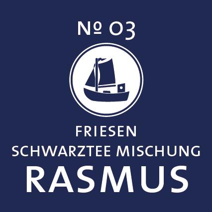 Schlürf | Schwarzer Tee | Rasmus Label - 'Robust wie sein Kutter'