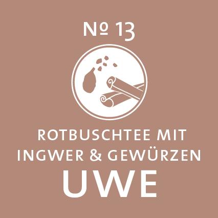 Schlürf | Rotbuschtee | Uwe Label - 'Würzig wie der Orient'