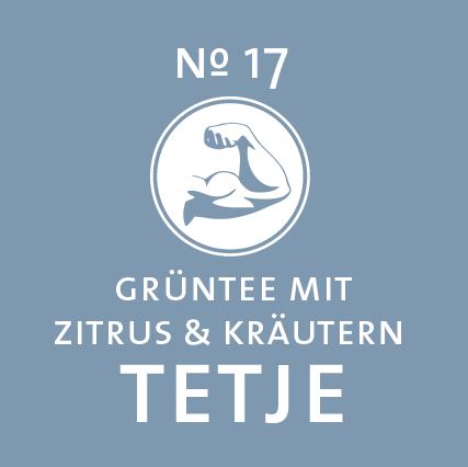 Schlürf | Grüner Tee | Tetje Label - 'Knackig wie sein Autritt'