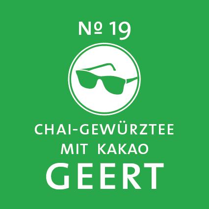 Schlürf | Kräutertee | Geert Label - 'Scharf wie seine Erscheinung'