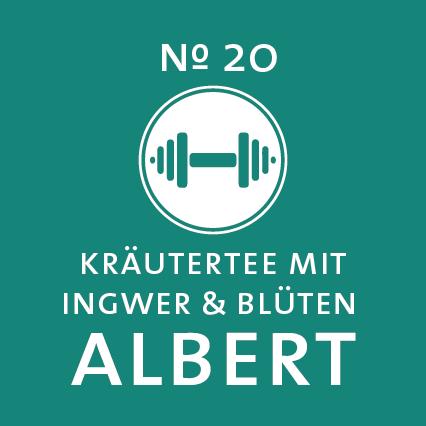 Schlürf | Kräutertee | Albert Label - 'Frühsport aus der Tasse'