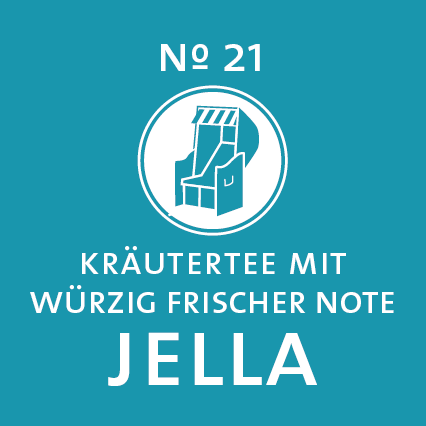 Schlürf | Kräutertee | Jella Label - 'Brückentag im Dünensand'