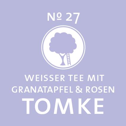 Schlürf | Wießer Tee | Tomke Label - 'Granatapfelstark wie Obstsalat'
