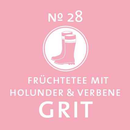Schlürf | Früchtetee | Grit Label - 'Leicht wie ihr Gang'