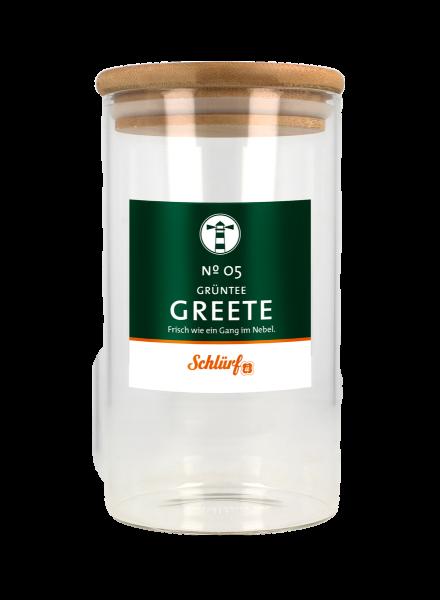 "Grüntee ""Greete"" No. 05 - Dööse"
