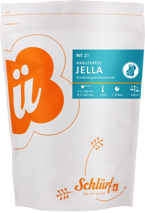 """Kräutertee """"Jella"""" No. 21 - Beutel"""