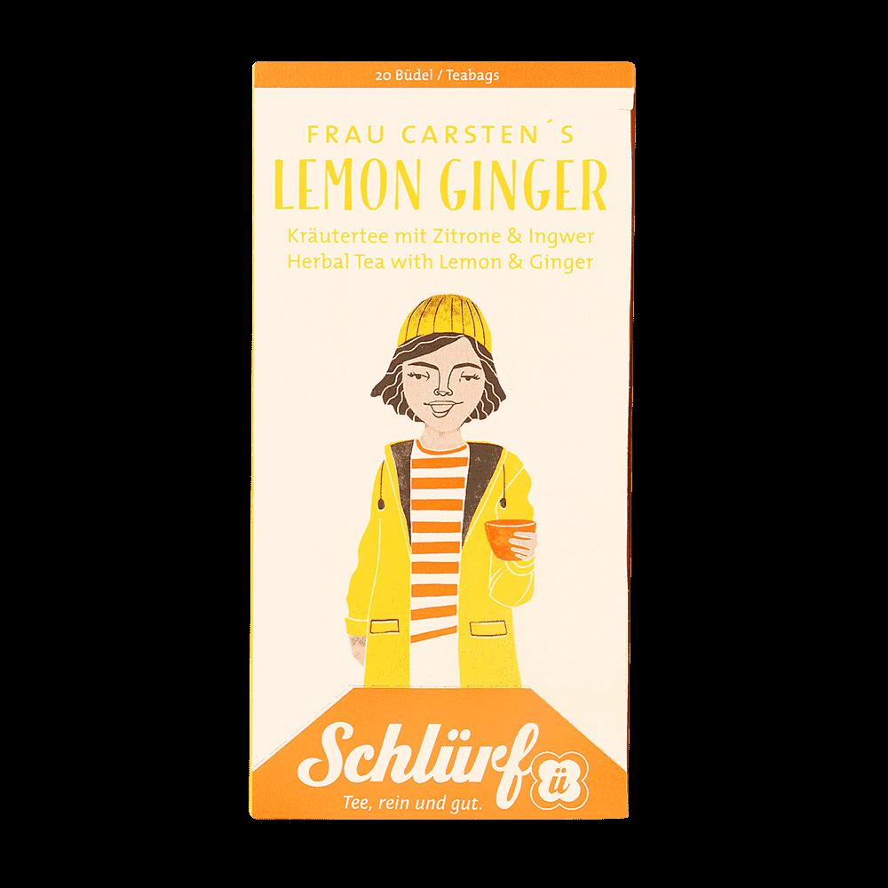Frau Carstens Lemon Ginger - Büdel