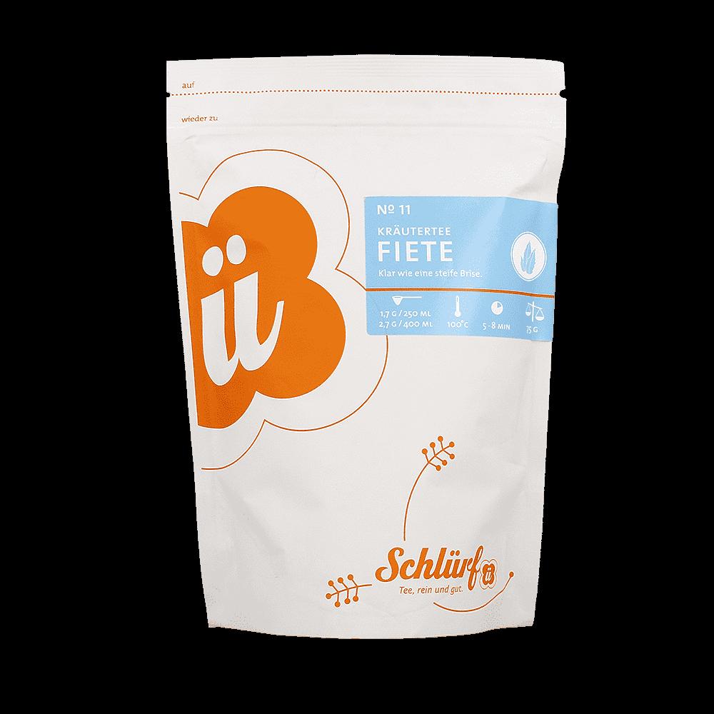 """Kräutertee """"Fiete"""" No. 11 - Beutel"""