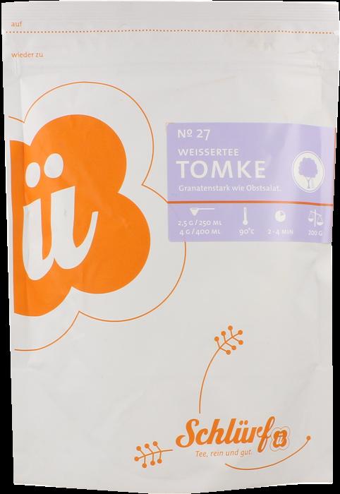 """Weißer Tee """"Tomke"""" No. 27"""