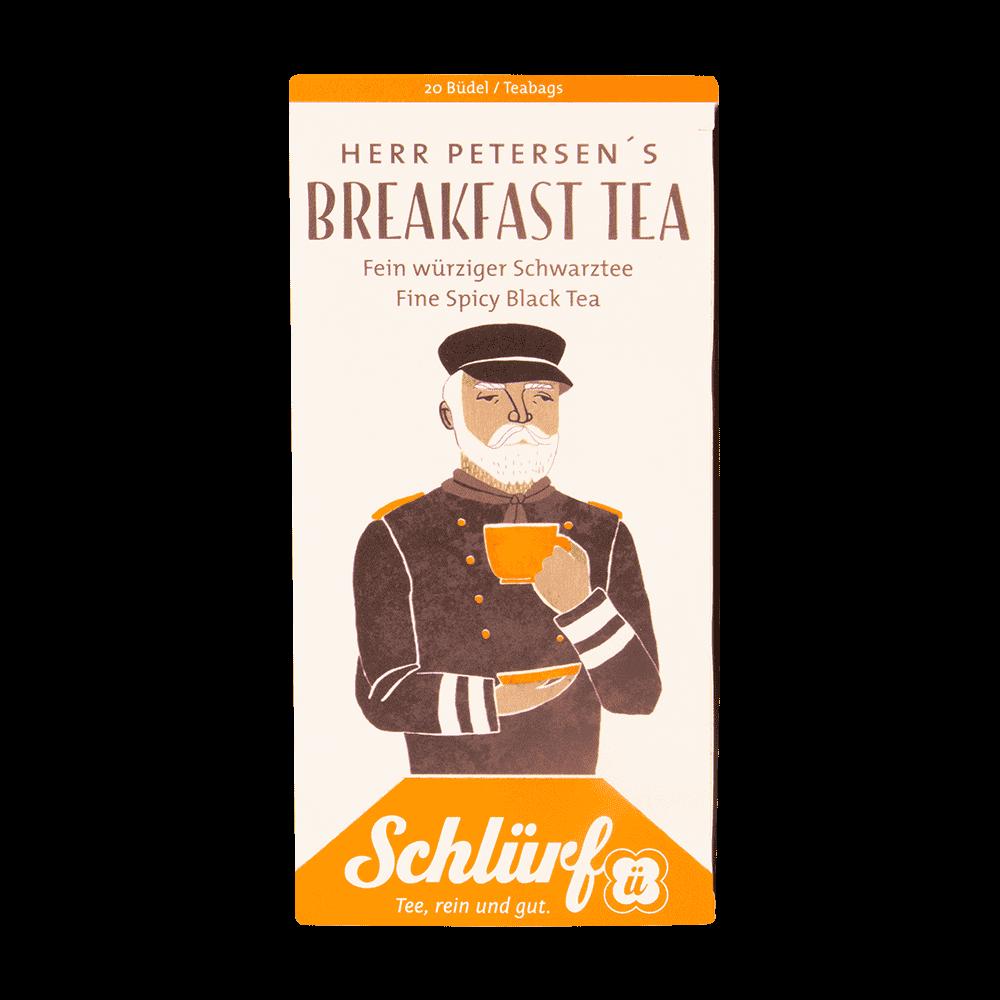 Herr Petersens Breakfast Tea - Büdel